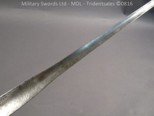 P1060222 600x450 Silver Hilted English 18th Century Sword