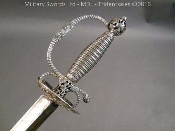 P1060223 600x450 Silver Hilted English 18th Century Sword