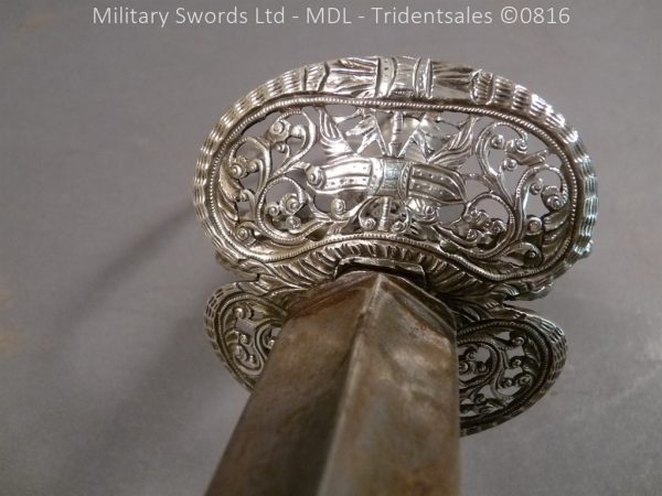 P1060231 600x450 Silver Hilted English 18th Century Sword