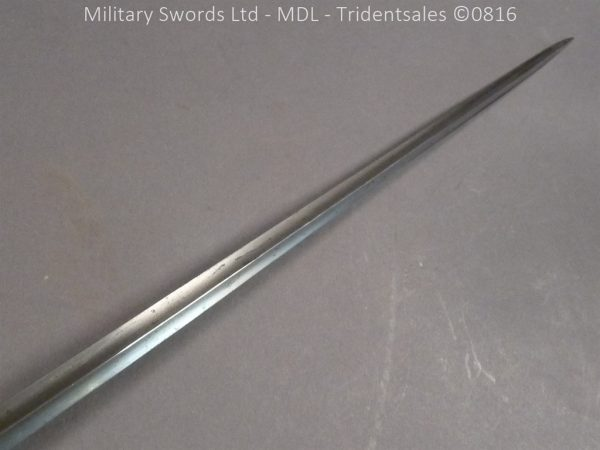 P1060240 600x450 Silver Hilted English 18th Century Sword