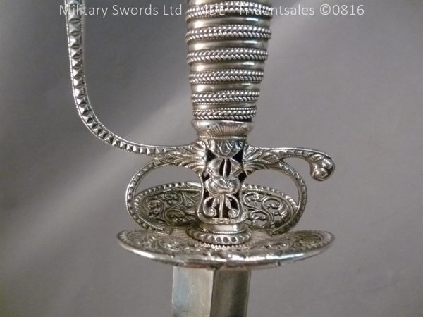 P1060247 1 600x450 Silver Hilted English 18th Century Sword