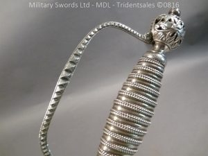 P1060249 1 300x225 Silver Hilted English 18th Century Sword