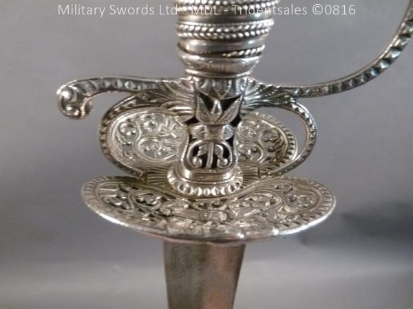P1060253 1 600x450 Silver Hilted English 18th Century Sword