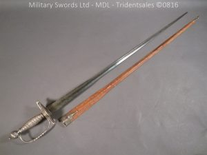 P1060841 300x225 Silver Hilted 18th Century English Sword and Scabbard