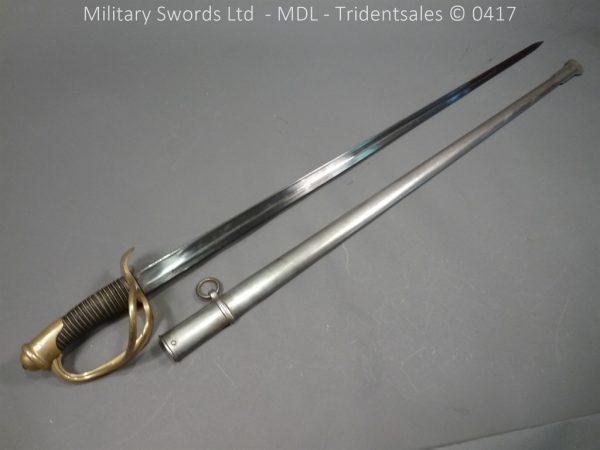 P10909 600x450 French M 1882 Sabre de Cavalerie Legere