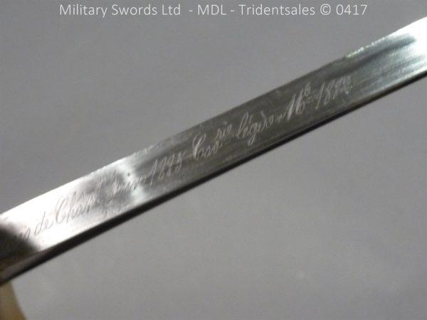 P10925 600x450 French M 1882 Sabre de Cavalerie Legere