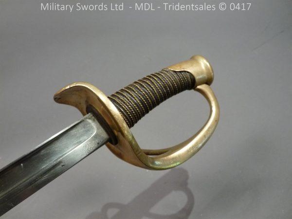 P10929 600x450 French M 1882 Sabre de Cavalerie Legere