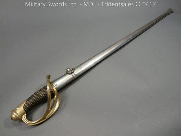 P10938 600x450 French M 1882 Sabre de Cavalerie Legere
