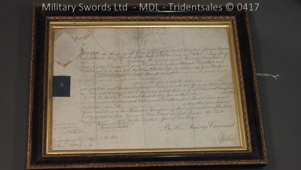 P11476 600x338 1796 Midlothian Vol Infantry Officers sword Major G Young