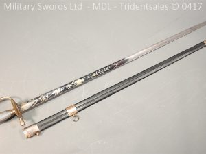 P11486 300x225 1796 Midlothian Vol Infantry Officers sword Major G Young
