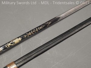 P11488 300x225 1796 Midlothian Vol Infantry Officers sword Major G Young