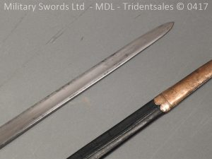 P11489 300x225 1796 Midlothian Vol Infantry Officers sword Major G Young