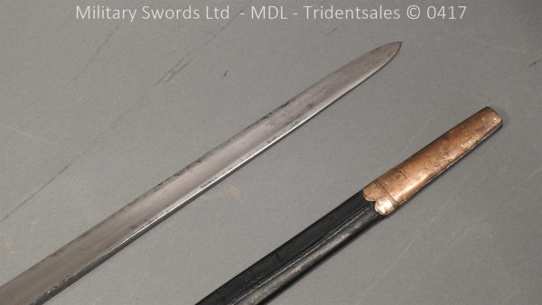 P11489 600x338 1796 Midlothian Vol Infantry Officers sword Major G Young