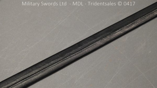 P11491 600x338 1796 Midlothian Vol Infantry Officers sword Major G Young