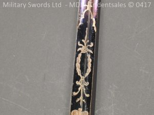 P11496 300x225 1796 Midlothian Vol Infantry Officers sword Major G Young