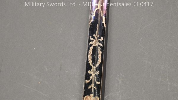 P11496 600x338 1796 Midlothian Vol Infantry Officers sword Major G Young