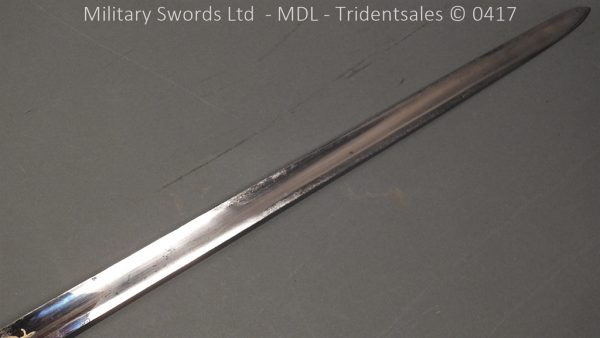 P11498 600x338 1796 Midlothian Vol Infantry Officers sword Major G Young