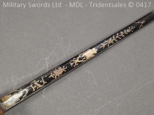 P11499 300x225 1796 Midlothian Vol Infantry Officers sword Major G Young