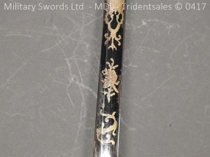 P11501 300x225 1796 Midlothian Vol Infantry Officers sword Major G Young