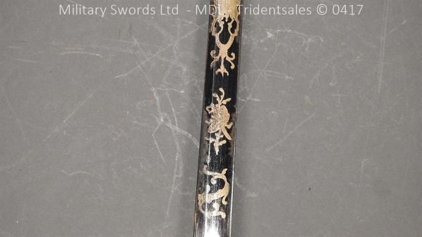 P11501 600x338 1796 Midlothian Vol Infantry Officers sword Major G Young