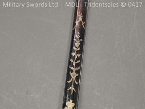 P11502 300x225 1796 Midlothian Vol Infantry Officers sword Major G Young