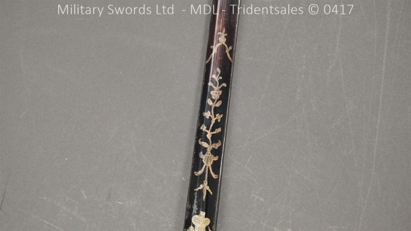 P11502 600x338 1796 Midlothian Vol Infantry Officers sword Major G Young