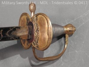 P11504 300x225 1796 Midlothian Vol Infantry Officers sword Major G Young