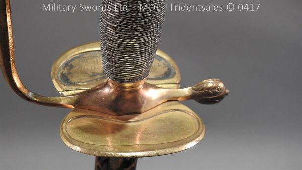 P11508 600x338 1796 Midlothian Vol Infantry Officers sword Major G Young