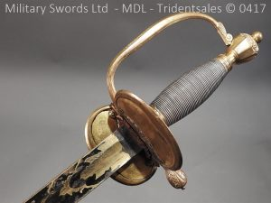 P11512 300x225 1796 Midlothian Vol Infantry Officers sword Major G Young