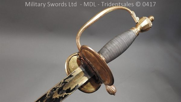 P11512 600x338 1796 Midlothian Vol Infantry Officers sword Major G Young