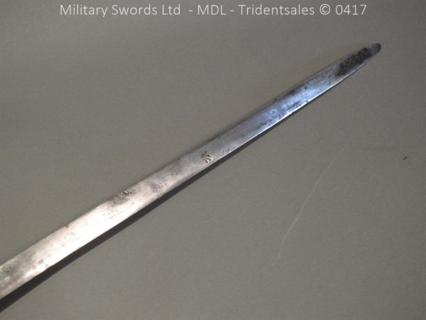 P12241 600x450 Spanish Cavalry Broad Sword Dated 1783