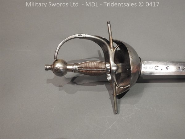 P12243 600x450 Spanish Cavalry Broad Sword Dated 1783