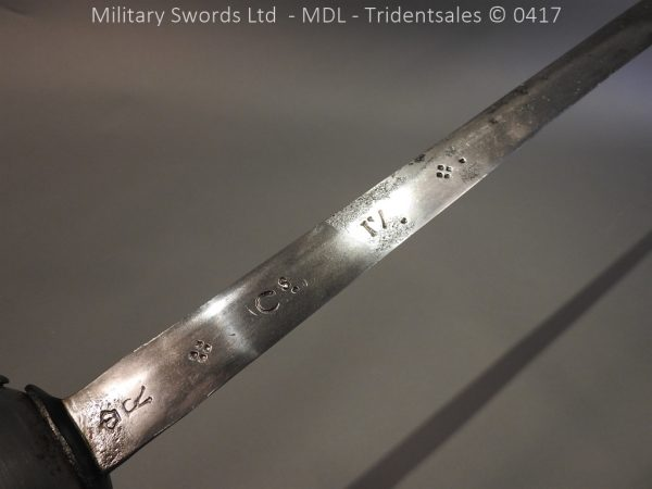 P12245 600x450 Spanish Cavalry Broad Sword Dated 1783