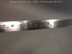P12249 300x225 Spanish Cavalry Broad Sword Dated 1783