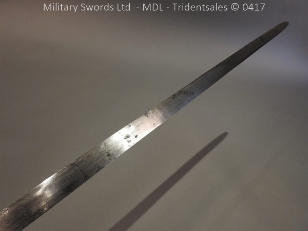 P12250 600x450 Spanish Cavalry Broad Sword Dated 1783