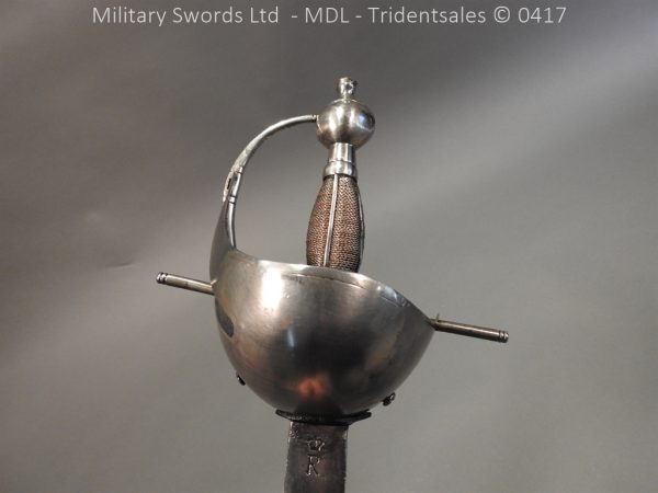 P12251 600x450 Spanish Cavalry Broad Sword Dated 1783