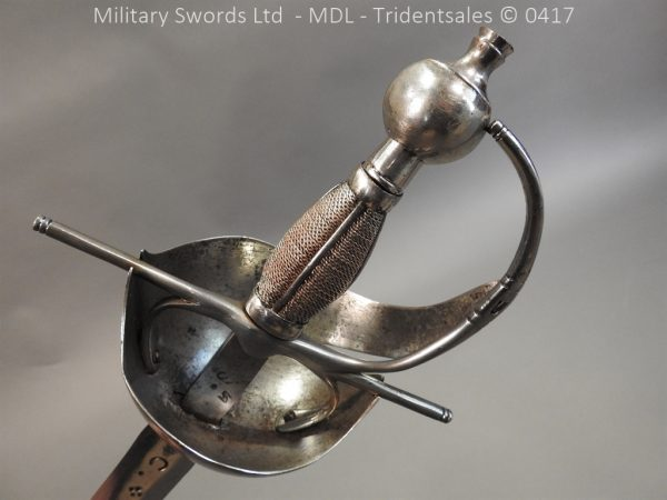 P12257 600x450 Spanish Cavalry Broad Sword Dated 1783