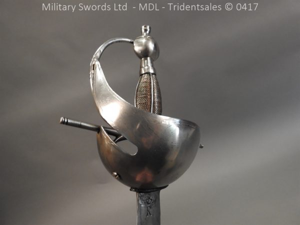 P12258 600x450 Spanish Cavalry Broad Sword Dated 1783