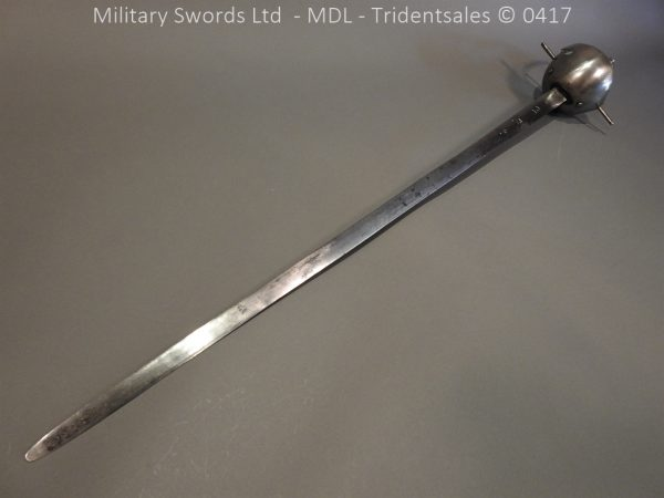 P12259 600x450 Spanish Cavalry Broad Sword Dated 1783