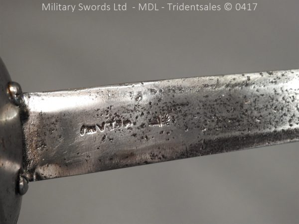 P12371 600x450 Spanish Cavalry Sword Model 1728