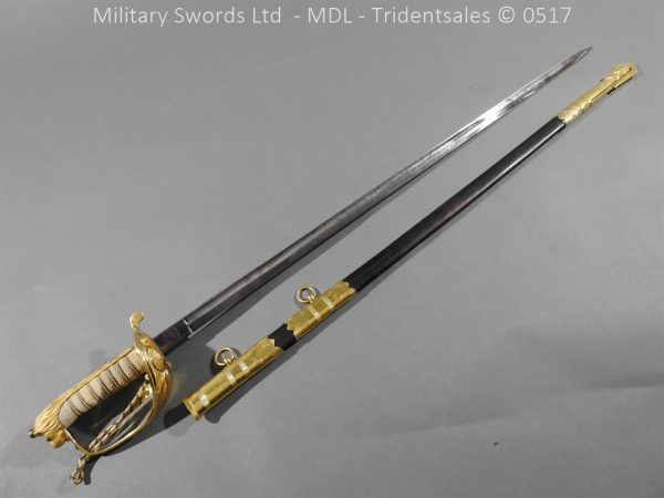 P12775 600x450 British ER 2 Officer's Naval Sword