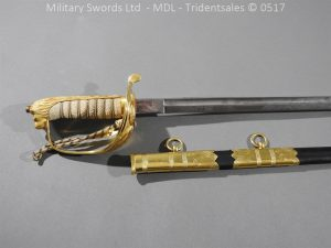 P12776 300x225 British ER 2 Officer's Naval Sword