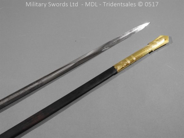 P12778 600x450 British ER 2 Officer's Naval Sword