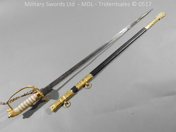 P12779 600x450 British ER 2 Officer's Naval Sword