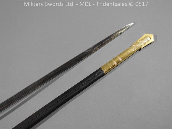 P12782 600x450 British ER 2 Officer's Naval Sword