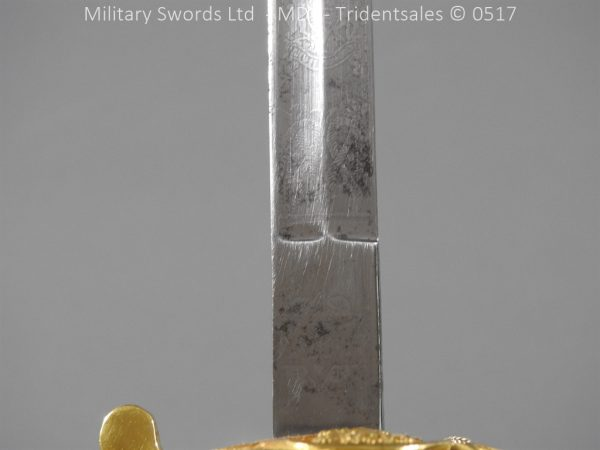 P12787 600x450 British ER 2 Officer's Naval Sword