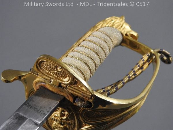 P12795 600x450 British ER 2 Officer's Naval Sword
