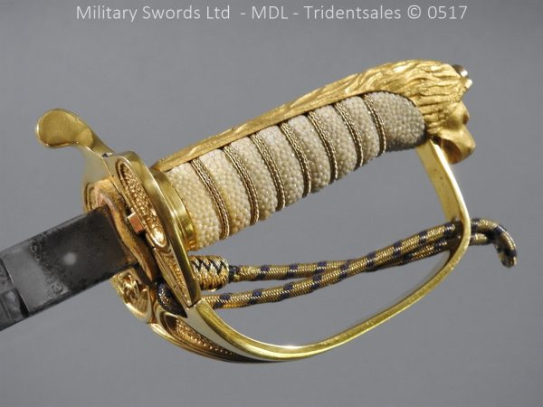 P12796 600x450 British ER 2 Officer's Naval Sword