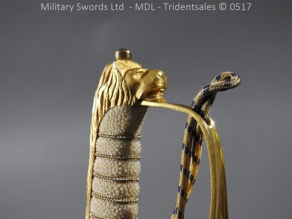 P12797 600x450 British ER 2 Officer's Naval Sword