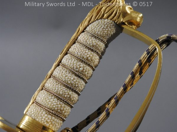 P12798 600x450 British ER 2 Officer's Naval Sword
